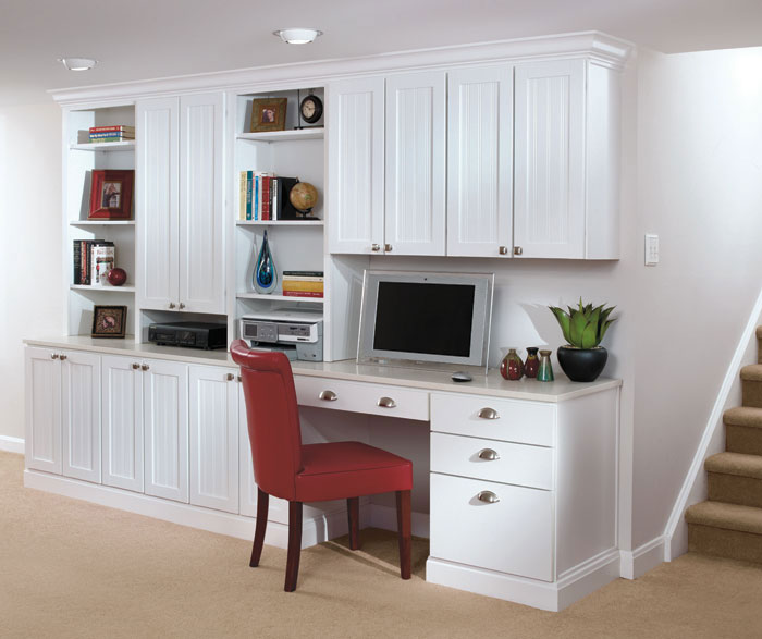 white office cabinet with doors. Gallery Aristokraft Cabinetry White Office Cabinet With Doors
